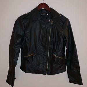 Zara Style | Leather Jacket